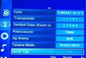 Beko televizyon frekans ayarları 2